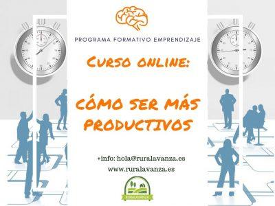 Curso online: Cómo ser más productivos