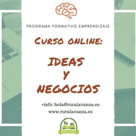 Curso online: Ideas y negocios