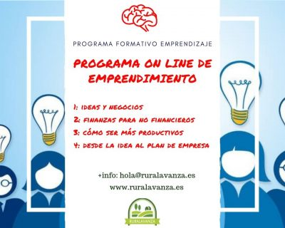 Programa online de emprendimiento