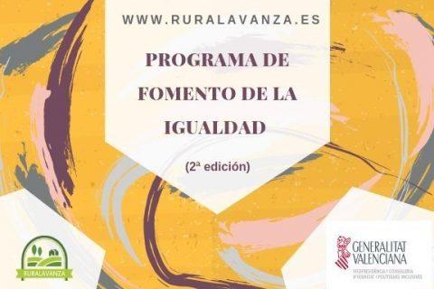 2019 Programa de fomento de la igualdad 2 ed