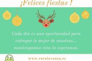 2017 felicitaciones navidad Ruralavanza