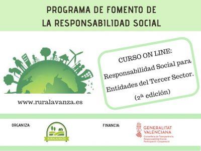 Curso on line: Responsabilidad Social para entidades del Tercer Sector.
