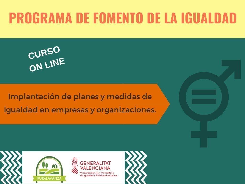 2019 Imagen curso Implantación planes y medidas de igualdad