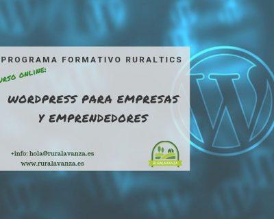 Curso online: WordPress para empresas y emprendedores
