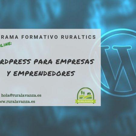 MATRÍCULA CERRADA: Curso online: WordPress para empresas y emprendedores
