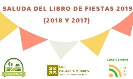 """Saluda del """"Libro de fiestas""""."""