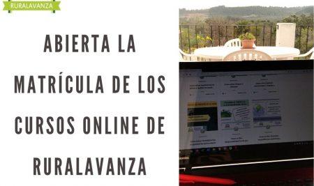 Anticipamos la apertura de los cursos online. #QuédateEnCasa