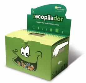 Contamos con un nuevo punto de recogida de pilas y baterías de uso doméstico en nuestro centro: Ecopilas