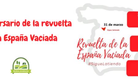 31 de marzo, 2º aniversario de la revuelta de la España vaciada