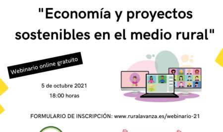 Webinario: Economía y proyectos sostenibles en el medio rural.